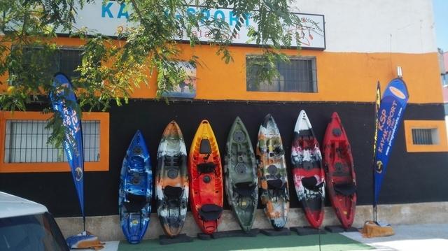 KAYAK PESCA DOBLE-TRIPLE EQUIPADOS.  - foto 6
