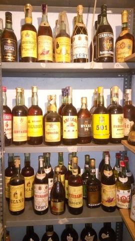 Botellas Brandy