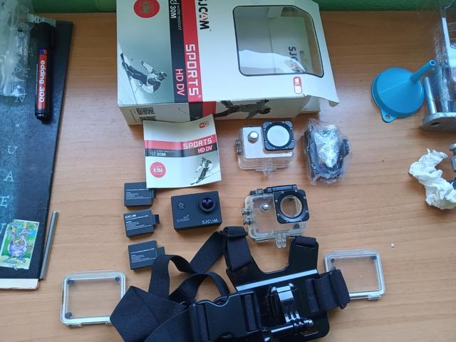 Set con cabeza banda manillar soporte de bicicleta f QUMOX Actioncam sj4000