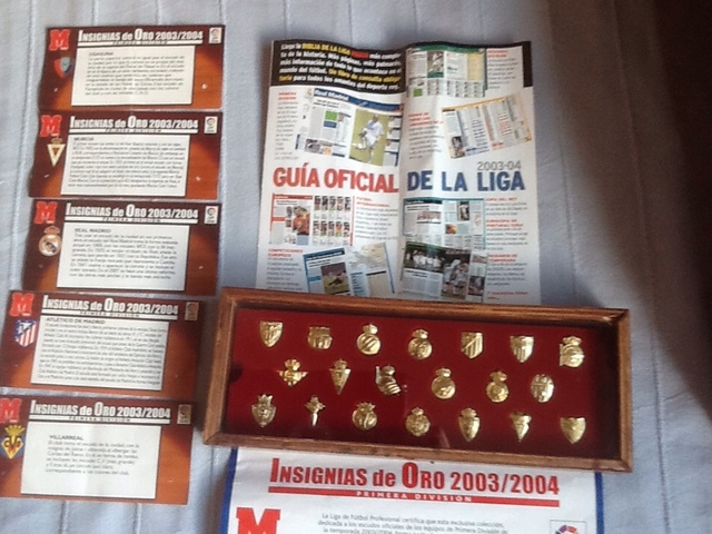 Insignias Chapadas En Oro