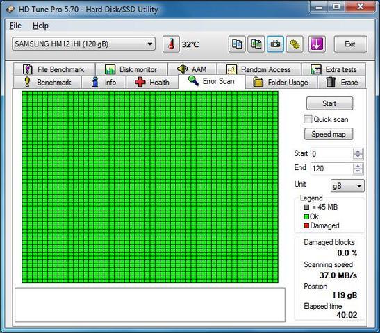 DISCO DURO HDD 2. 5 SAMSUNG HM121HI 120GB - foto 7