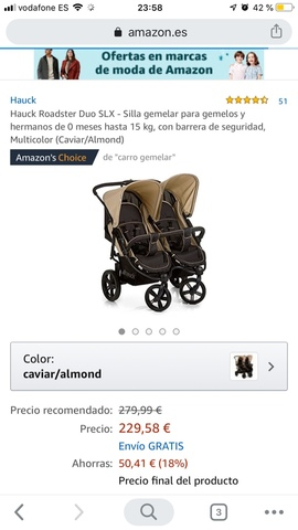 MIL ANUNCIOS.COM Carritos de paseo gemelar de bebes