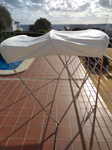 TOLDO BIMINI TAKE DOWN INOX.  200 - foto 4