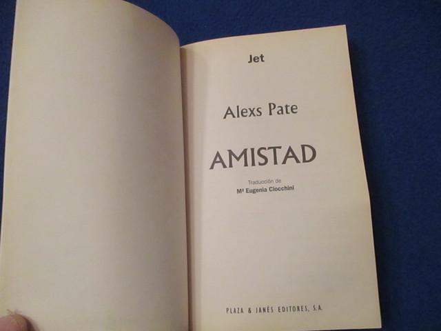 AMISTAD ALEXS PATE-DAVID FRANZONI - foto 3