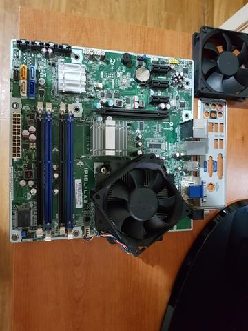PEGATRON IPIEL-LA3+CPU E8400+DISIPADOR - foto 2