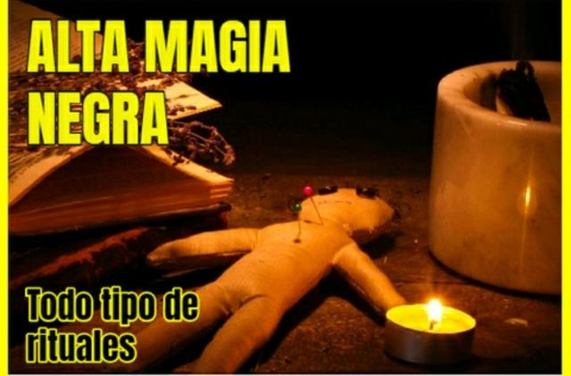 AMARRES, MAGIA NEGRA 100% EFECTIVA - foto 1