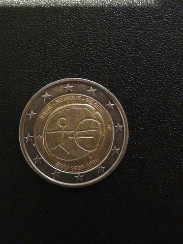 Moneda 2 Euros Belgie 2009 Emu