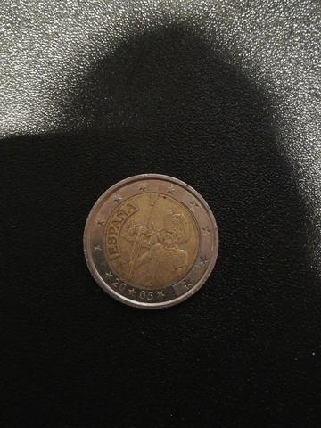 Moneda 2 Euros De España (2005). Uem