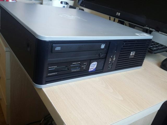 ORDENADOR HP DC5800SFF 500GB - foto 1