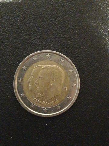 Moneda De 2 Euros España, 2014