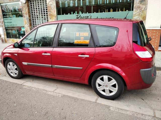 Renault scenic ii 2003-2009 5-asientos fundas para asientos ya referencias ya medida de referencia