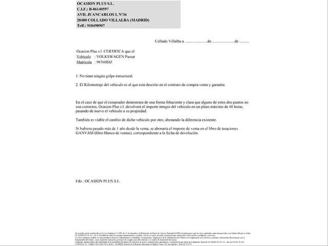 VOLKSWAGEN - PASSAT VARIANT 2. 0 TDI 140CV EDITION BMOT TECH - foto 5