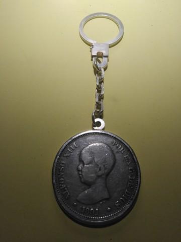 Vendo Moneda Alfonso Xiii En Llavero