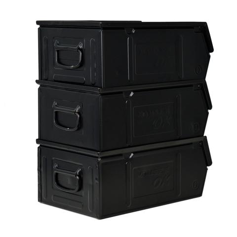 /capacidad /blanco 60/l/ Caja con ranuras apilable en PEHD 600/x 400/mm/