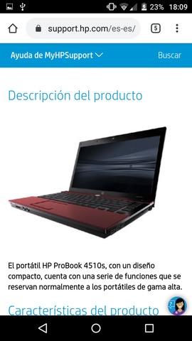 HP PROBOOK 4510S AVERIADO - foto 2