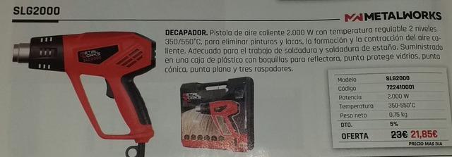 Metalworks SLG2000 Decapador