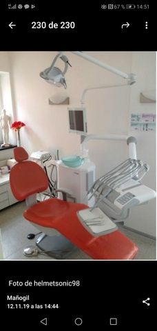 SILLON DENTAL FEDESA CORAL 3300 - foto 1
