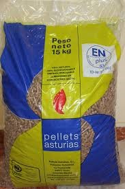 PELLETS EN SACOS ASTURIAS 3. 75 EUROS - foto 1