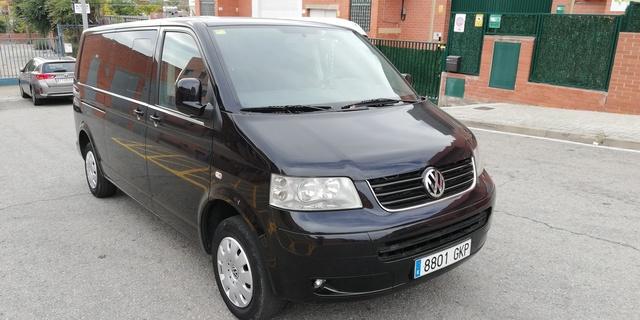 Para VW Multivan T5 2003-2009 nuevo centro de parachoques delantero parrilla Chrome Trim moldeo