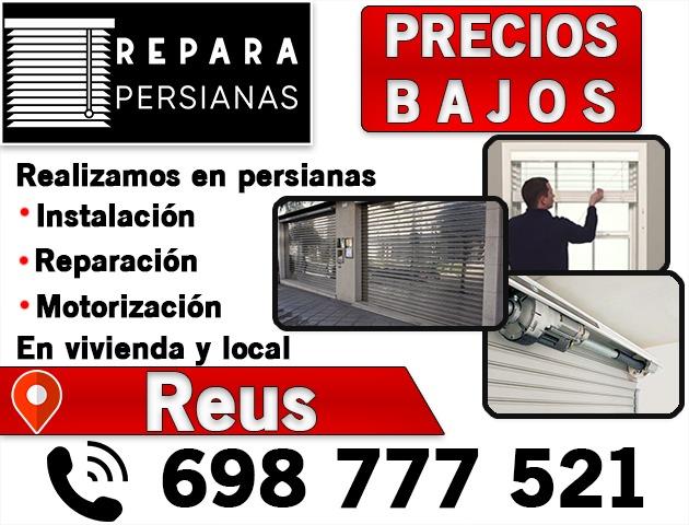 REPARAMOS PERSIANAS REUS PRECIOS BAJOS - foto 1