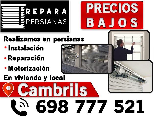 REPARAR PERSIANAS CAMBRILS BARATAS - foto 1