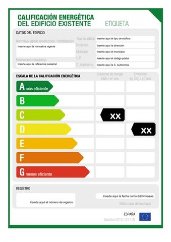 CERTIFICADO EFICIENCIA ENERGETICA - foto 1