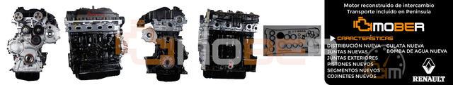 MOTOR RENAULT 2. 5DCI 2500 G9U632 G9U650 - foto 1
