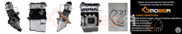 MOTOR VW TRANSPORTER 1. 6 TD JX 1600 - foto 1