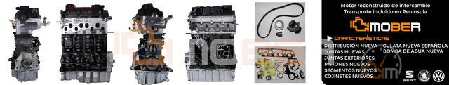MOTOR VW SEAT 1. 9TDI AJM/ARL/ASZ/ATD/AUY - foto 1