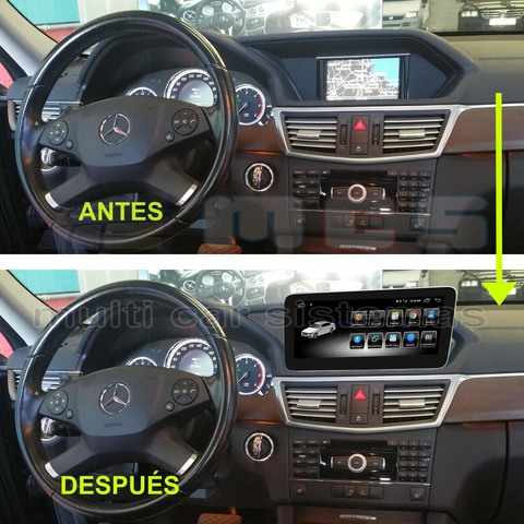 PANTALLA GPS ANDROID MERCEDES W212 NTG-4 - foto 7