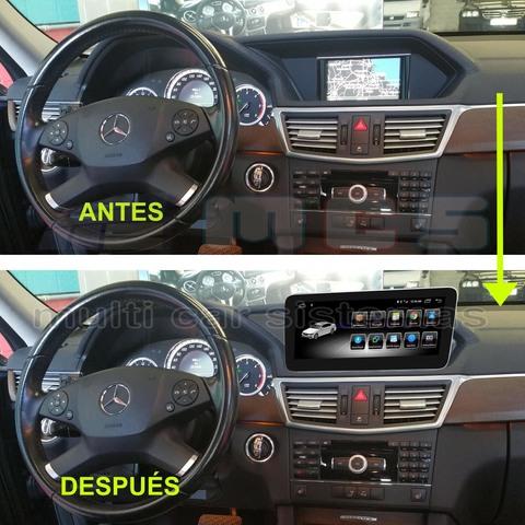 PANTALLA TÁCTIL GPS MERCEDES W207 NTG-4 - foto 7