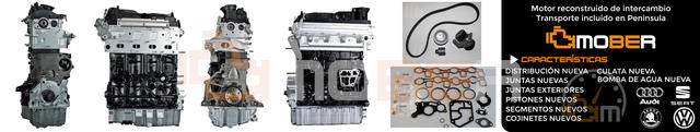 MOTOR VW 2. 0TDI CFHC/CFHA/CFHF/CFJA 2000 - foto 1