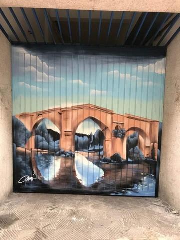 GRAFFITI MURAL ARTE - foto 6