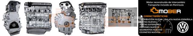 MOTOR VW TOUAREG 2. 5 TDI BAC/ BLK 2500CC - foto 1