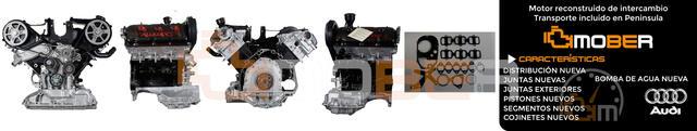 MOTOR AUDI A4/A6/A8 V6 2. 5TDI AKE 2500CC - foto 1