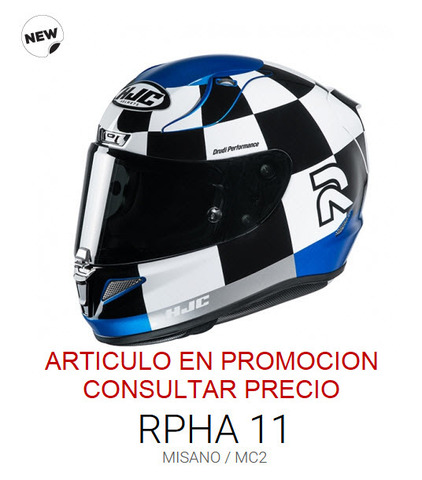 CASCO INTEGRAL HJC RPHA11 MISANO MC2 - foto 2