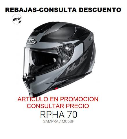CASCO INTEGRAL HJC RPHA70 SAMPRA MC5SF - foto 1