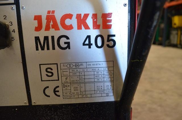 MAQUINA SOLDAR HILO JACKLE MIG 405 - foto 6