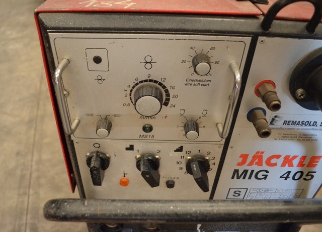 MAQUINA SOLDAR HILO JACKLE MIG 405 - foto 7