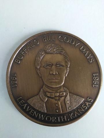 Moneda Conmemorativa Buffalo Bill