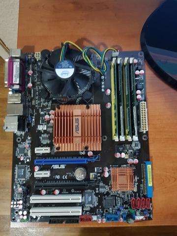 ASUS P5N-D+CPU 2. 93GHZ+DISIPDDOR+6GB RAM - foto 2