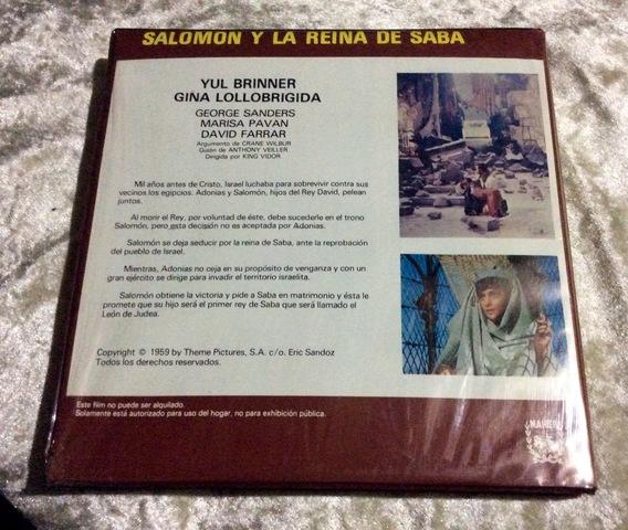 PELICULA SÚPER 8 SALOMÓN Y REINA SABA - foto 2