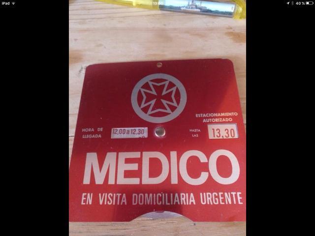 Cartel Medico Antiguo
