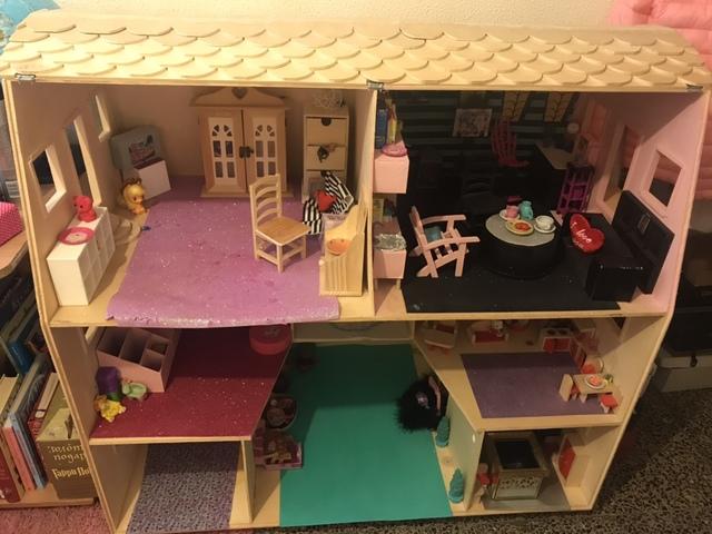Casa de muñecas en miniatura 1//12th Escala Kit de fabricantes de vestir//coser-Mostrar sólo