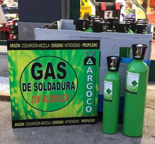 Gas De Soldadura Mig .  Sin Alquiler