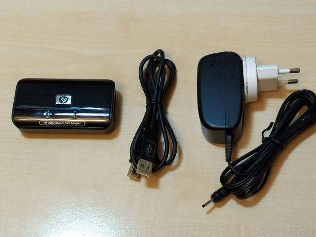 ADAPTADOR IMPRESORA USB A RED MARCA HP - foto 1