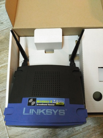 ROUTER INALÁMBRICO WIRELESS-G LINKSYS WR - foto 3