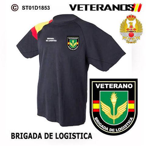 Camiseta Veteranos Brigada De Logistica