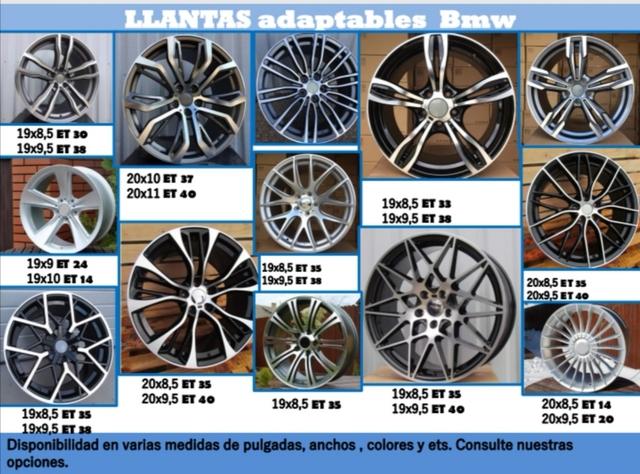 LLANTAS ADAPTABLES PARA BMW - foto 1