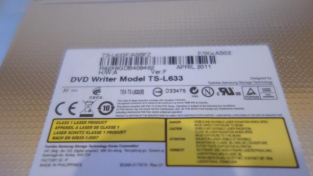 DVD TS-L633 PARA ORDENADOR PORTÁTIL - foto 2